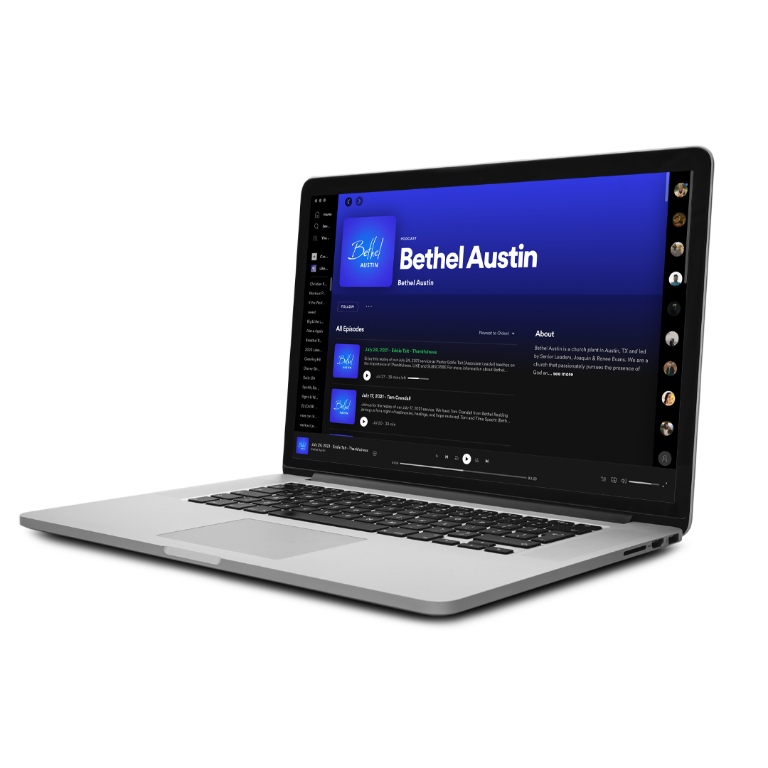 Listen to a Recent Podcast or Watch a Recent VIideo Message at Bethel Austin